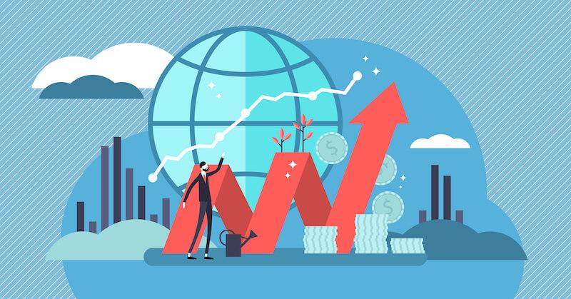 投資の予測の画像