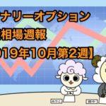 バイナリーオプション投資相場週報【2019年10月第2週】