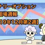 バイナリーオプション投資相場週報【2019年12月第2週】