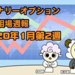 バイナリーオプション投資相場週報【2020年1月第2週】