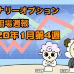 バイナリーオプション投資相場週報【2020年1月第4週】
