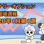 バイナリーオプション投資相場週報【2020年1月第1週】
