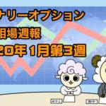 バイナリーオプション投資相場週報【2020年1月第3週】