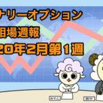 バイナリーオプション投資相場週報【2020年2月第1週】